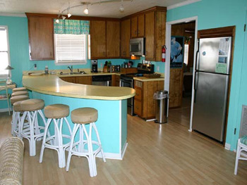 Kitchen of Isle Call - Gulf Shores Beach House for Rent